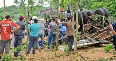 Grave acidente deixa mortos na RSC-472, em Tenente Portela