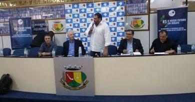 Lideranças de diversos municípios participaram do evento realizado em Palmeira das Missões