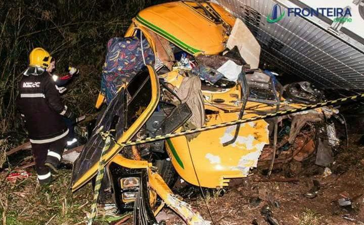 Caminhoneiro palmeirense morre em acidente  no Paraná
