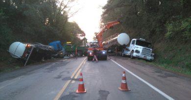 Situação parecia normalizada quando aconteceu o segundo acidente na BR285