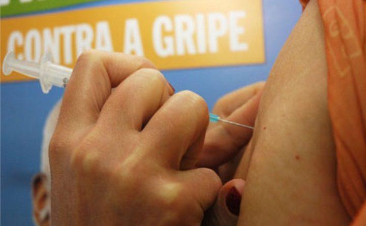 Vacinação contra a gripe iniciou na segunda