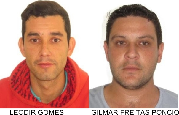 Polícia Civil divulga fotos de suspeitos dos assaltos às lotéricas
