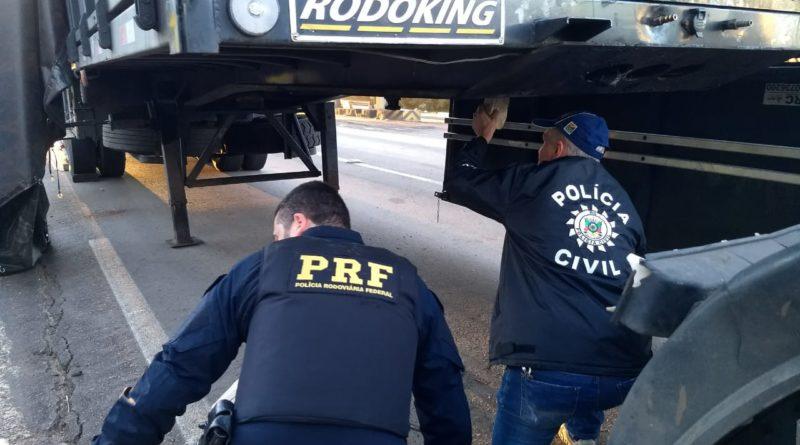 PRF e PC apreendem cerca de 45 kg de crack e prendem homem em Soledade
