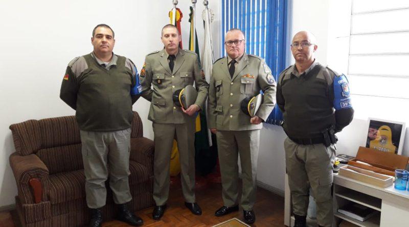 39°BPM recebe três Sargentos para compor o efetivo do batalhão