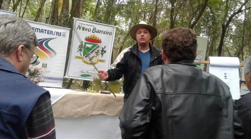Palmeira das Missões e Novo Barreiro sediam dia de campo sobre erva-mate