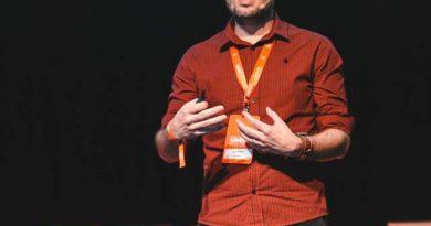 Jean Campos palestra em evento internacional