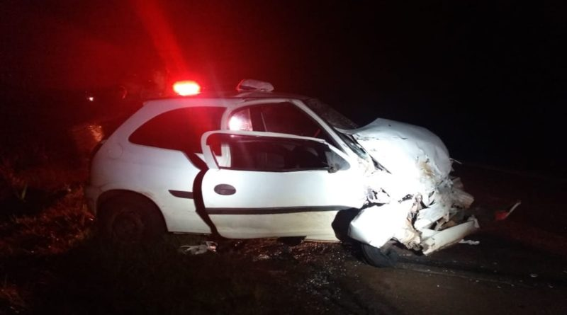 Duas pessoas morrem e outras cinco ficam feridas em acidente em Coronel Bicaco