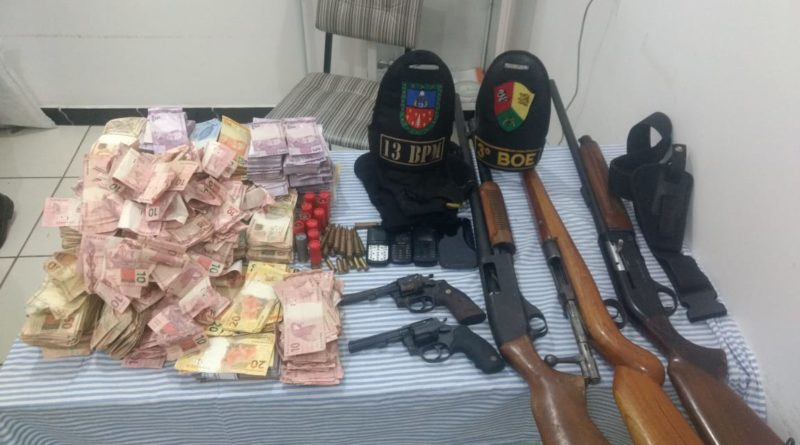 Após confronto com BOE de Passo Fundo 5 bandidos são mortos em Trindade do Sul