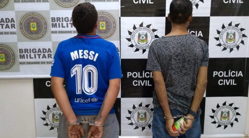 Ação conjunta da Brigada Militar e da Policia Civil de Palmeira das Missões aprende apreende munição de uso restrito