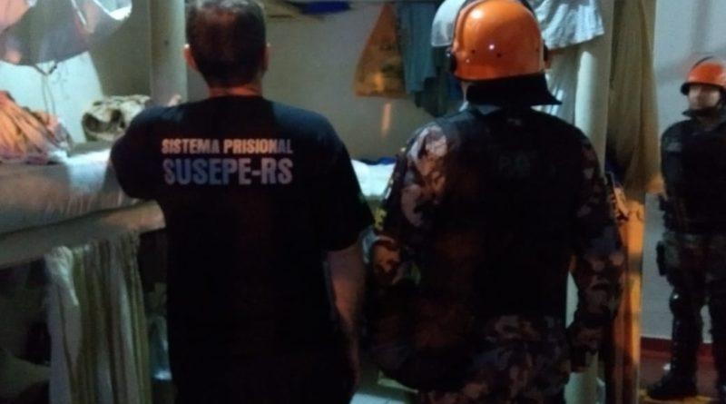 Tentativa de fuga no presídio estadual de Palmeira das Missões