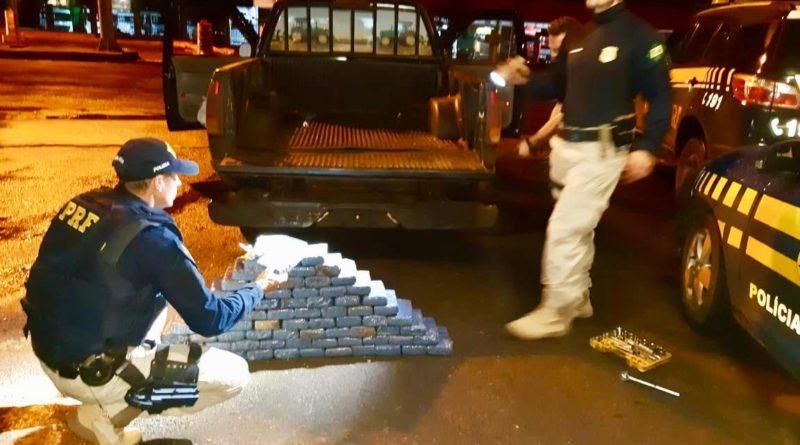 PRF prende homem que transportava mais de 80 quilos de cocaína na BR 285