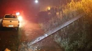 Após acidente condutor sai do veículo e morre ao se encostar em fios de alta tensão em Tenente Portela