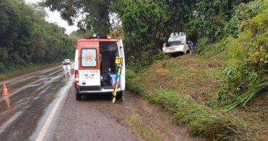 Dois homens morrem em acidente na BR-386