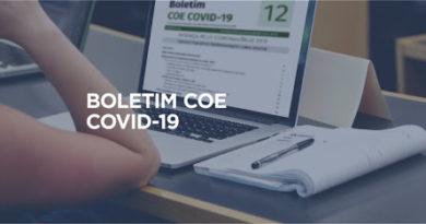 Novos números do Covid-19 em Palmeira das Missões